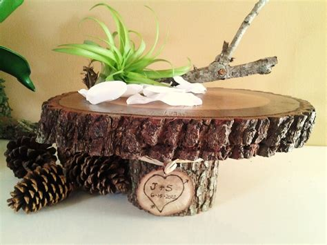 tree stump cake stand tree trunk cake stand wedding cake ideas d