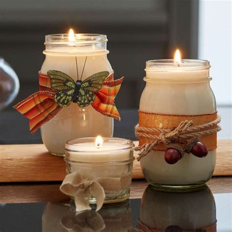 fascinating diy candle holders   spirit   fall