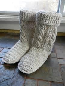 Crochet Adult Boot Patterns