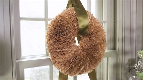 See more ideas about coffee filter wreath, coffee filters, coffee filter flowers. Coffee Filter Wreath & Video | Martha Stewart