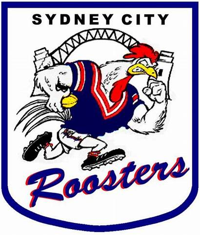 Roosters Sydney Rugby Logos League Australian Nrl