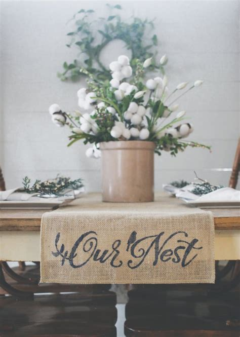 Best Farmhouse Style Table Runners Excellent