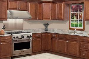 CHARLESTON TRADITIONAL COGNAC Kitchen Cabinets Bargain