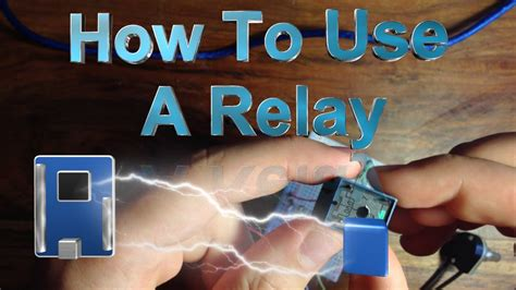 How To Use A Relay With The Arduino Youtube