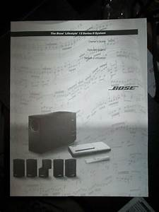 Bose Lifestyle 12 Owners Guide Original Manual