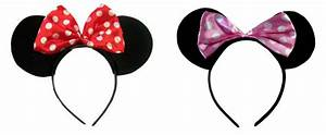 Minnie Mouse Ears headband Red, Pink - Hair Accessories