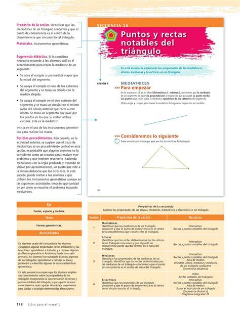 Libros de matematicas para primer grado de secundaria en mexico. Libro De Matematicas Telesecundaria Segundo Grado Volumen ...
