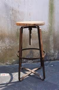 iron bar stool american country to do the retro rust