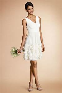 little white dresses for every wedding event huffpost With little white dress wedding