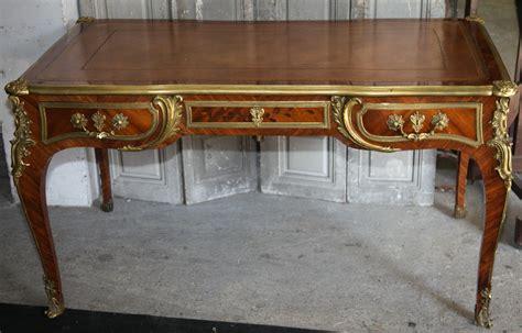 bureau de style mode bureau plat de style louis xv circa 1880