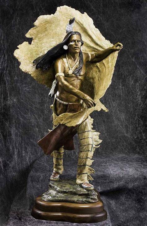 famous sculpture signals native americans depicted