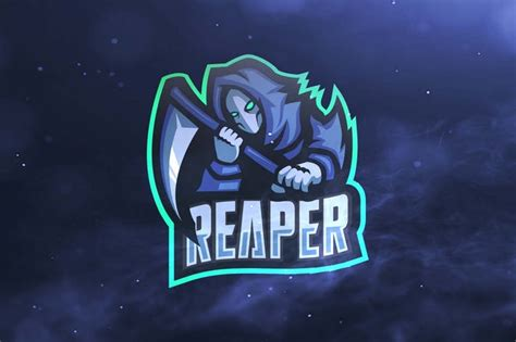 reaper sport  esports logos  ovozdigital  envato