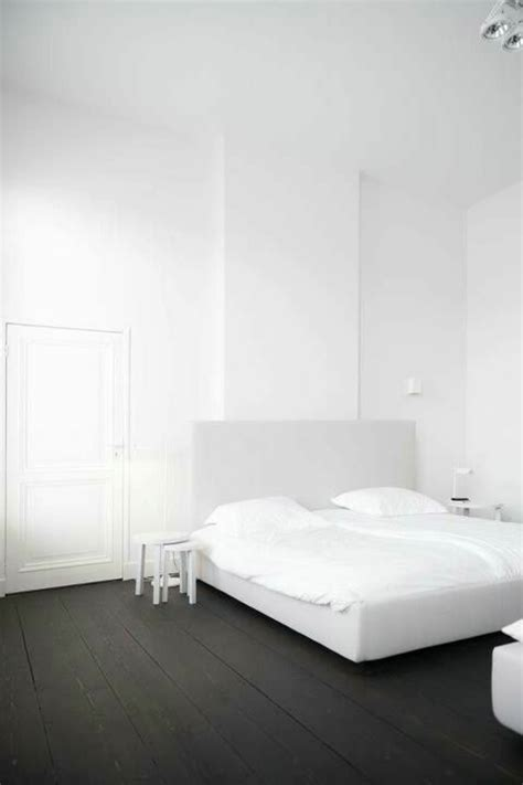 chambre a coucher noir le parquet noir en 45 photos