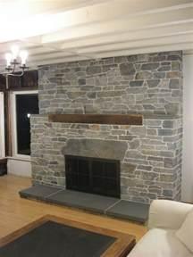 fireplace stone veneer design ideas