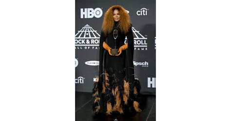 Janet Jackson at Rock and Roll Hall of Fame Ceremony 2019 ...