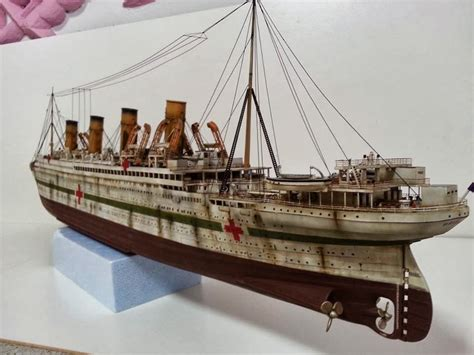 rms olympic model sinking rms olympic model kit