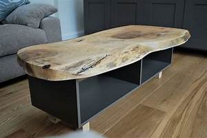 painted coffee table with solid oak or ash wood by sandman With ash wood coffee table