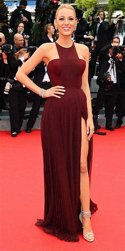 Blake Lively Gucci Carpet Cannes Braid Amazing