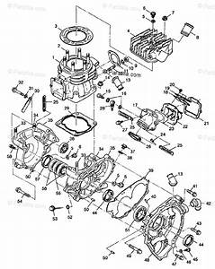 Polaris Atv 1998 Oem Parts Diagram For Crankcase
