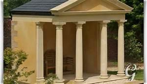 Pavillon Für Garten : gartenpavillon aus stein vittelus ~ Michelbontemps.com Haus und Dekorationen