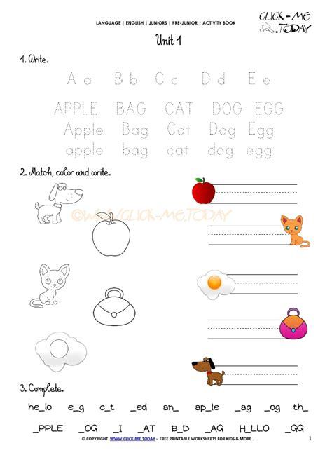 printable beginner esl pre junior worksheet  alphabet