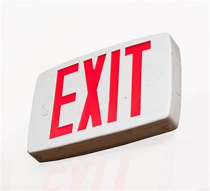 Exit Sign Tritium Disposal Kit Recycling Signs