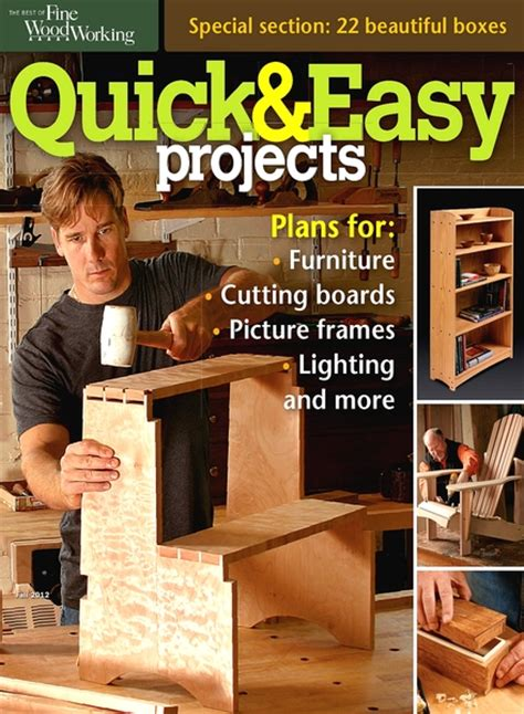 projetc october  popular woodworking