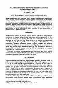 52 Air And Water Pollution Essay Air Pollution Effects