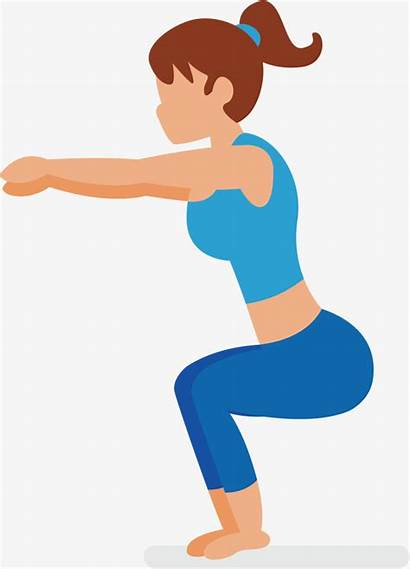 Squat Vector Beauty Fitness Bodybuilding Gym Getdrawings
