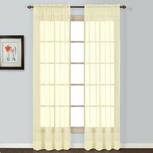 united curtain company batiste 63 quot sheer window panel