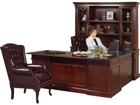 u shaped home office desk executive u shaped office desk w left credenza kes 038