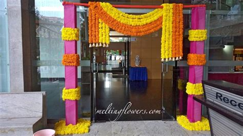 Tips For Wedding Entrance Decoration Wedding Decorations