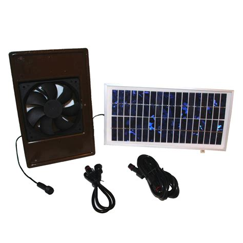 how to make a solar powered fan dog palace breeze solar powered exhaust fan large dog