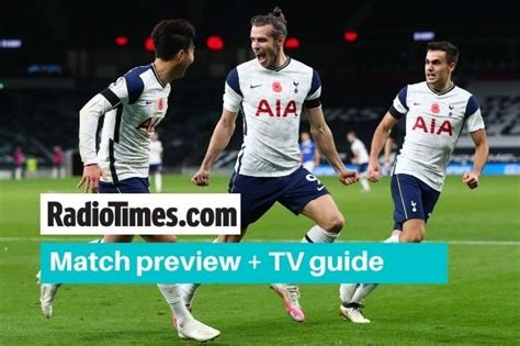 What TV channel is Tottenham v Man City on? Kick off time ...