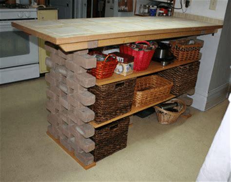 diy rustic kitchen island 12 diy kitchen island designs ideas home and gardening 6889