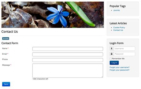 how to create a form in joomla module how to create a joomla contact form joomlashack