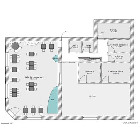 plan de chambre froide perrine pollet plan restaurant monographie efpme 2013
