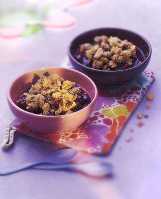 recette cuisine corse recette cuisine gratin crumble corse brebis cerises