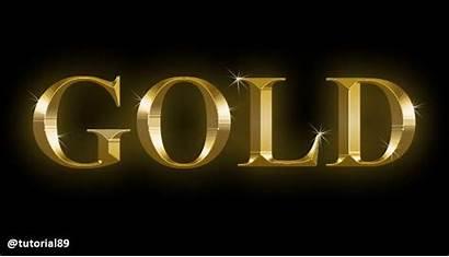 Photoshop Membuat Efek Dengan Cara Tulisan Emas