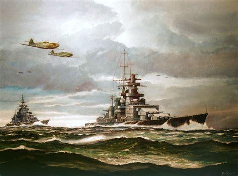 maritimequest  art  scharnhorst