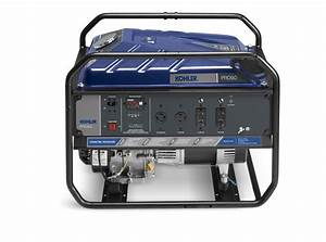 New Kohler U00ae Portable Generator Allows Users To Select Between Three Different Fuels