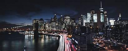 York Road Night 8k Manhattan Bridge Wallpapers
