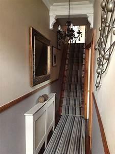 Long, Narrow, Hallway, Narrow, Hallway, Victorian, House
