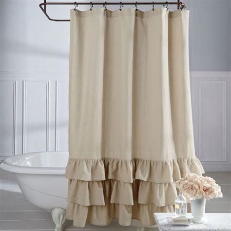 ombre shower curtain curtain astonishing ruffled shower curtain cheap country