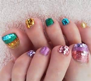 Easy toe nail art designs ideas