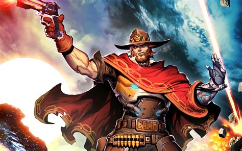 mccree overwatch hd wallpapers backgrounds
