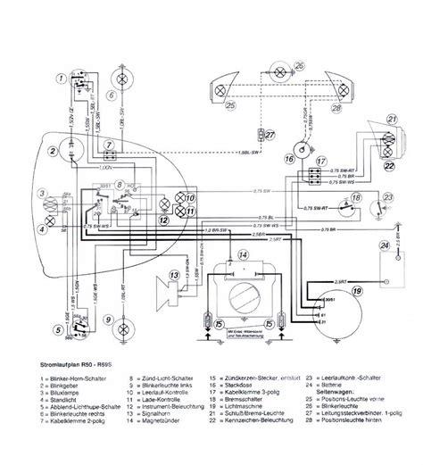 Bmw R75 5 Wiring Diagram by Wiring Diagram R50 R69s 6v Salis Salis