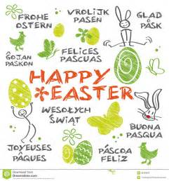 Happy Easter asstd languages