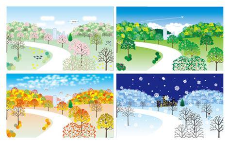 四季 イラスト に対する画像結果