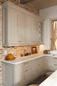 images of kitchen backsplashes 30 practical and really stylish brick kitchen